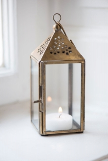 Mini lucerna Triangular Brass